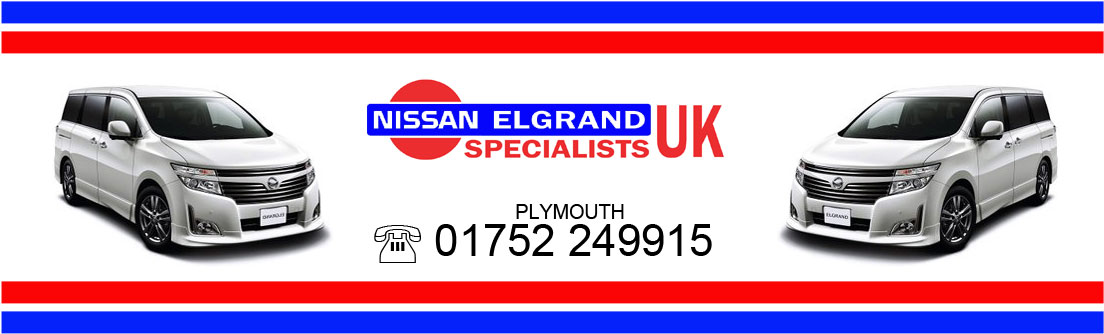 NISSAN ELGRAND SPECIALISTS, PARTS, SERVICE, REPAIRS, CAMPERVAN CONVERSIONS, IMPORT, EXPORT