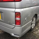 LPG FILLING POINT on NISSAN ELGRAND E51
