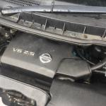 LPG Conversion Engine bay look of NISSAN ELGRAND E51 3.5L V6 year 2004